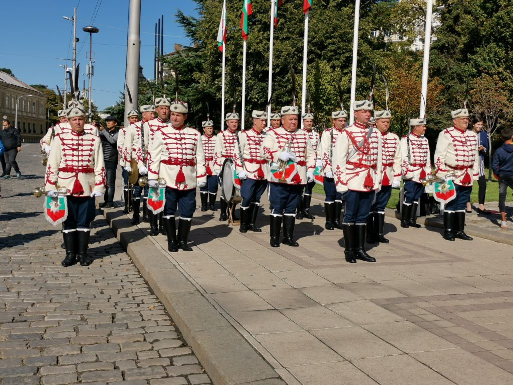 the Brass Band of the Bulgarian President