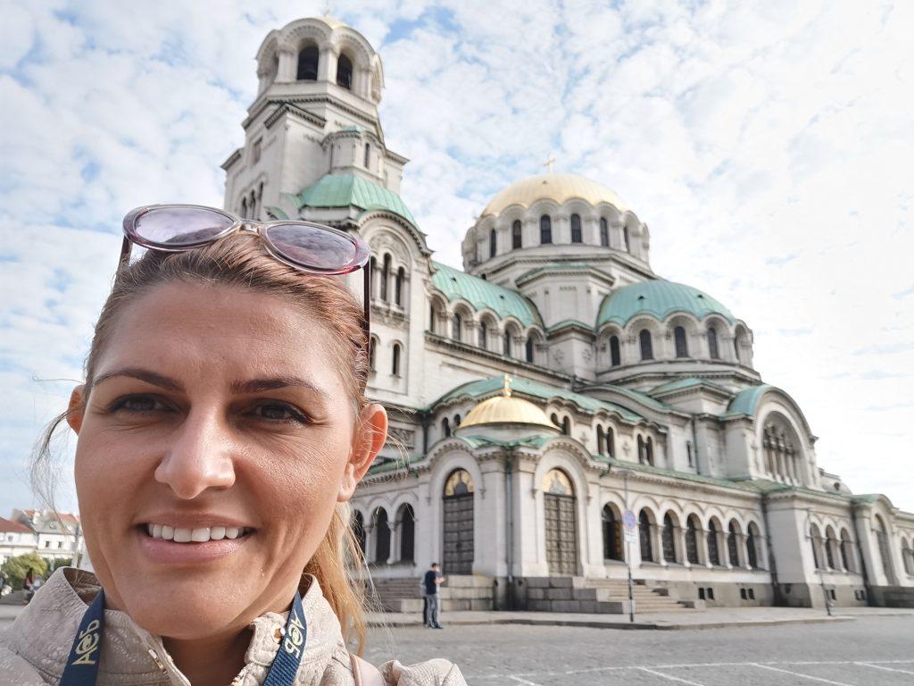 the St Aleksander Nevski Cathedral in Sofia