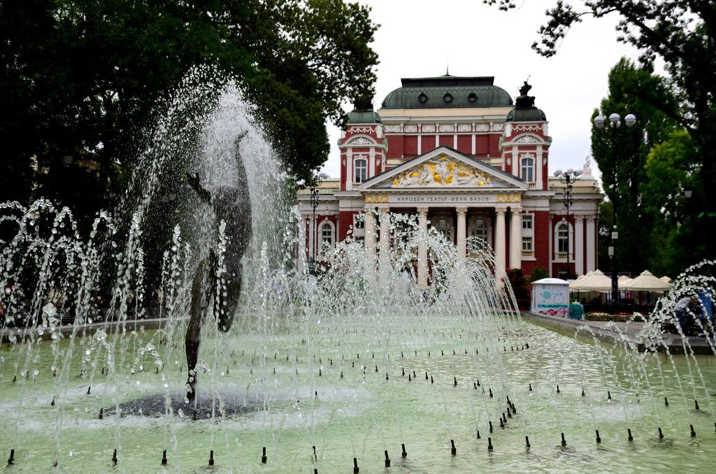Sofia, the National Theater