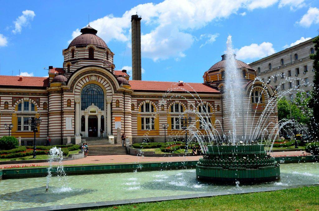 Sofia, the Mineral bath